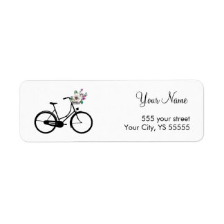 Modern Bicycle Design with flower basket
