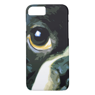 modern big Boston Terrier iPhone 8/7 Case