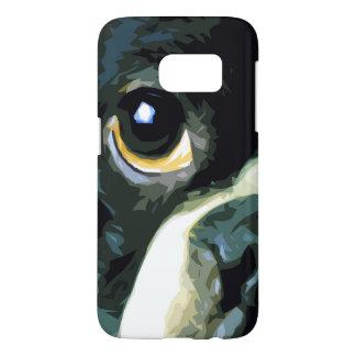 modern big Boston Terrier Samsung Galaxy S7 Case