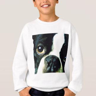 modern big Boston Terrier Sweatshirt