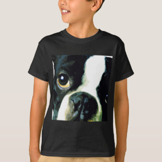 modern big Boston Terrier T-Shirt