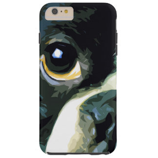 modern big Boston Terrier Tough iPhone 6 Plus Case