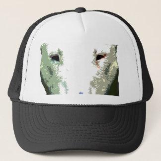 modern big Bull Terrier Trucker Hat