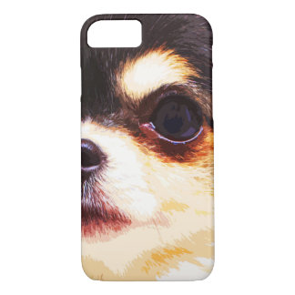 modern big Chihuahua iPhone 8/7 Case