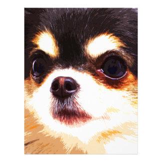 modern big Chihuahua Letterhead