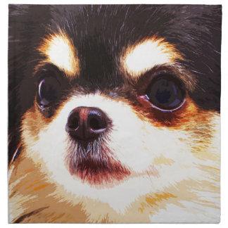 modern big Chihuahua Napkin