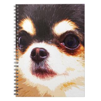 modern big Chihuahua Notebook