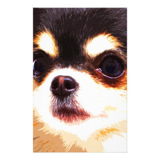 modern big Chihuahua Stationery