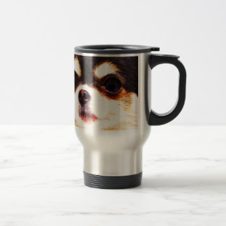 modern big Chihuahua Travel Mug