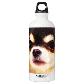 modern big Chihuahua Water Bottle