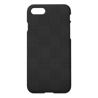 Modern Black -Maze Pattern- Custom iPhone 8/7 Case