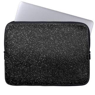 Modern Black Stone style -Space- Laptop Sleeve