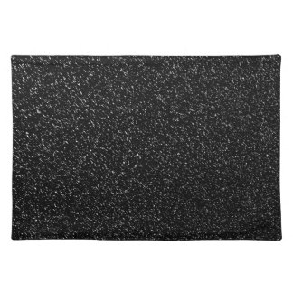 Modern Black Stone style -Space- Placemat
