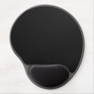 Modern Black Texture Gel Mouse Pad
