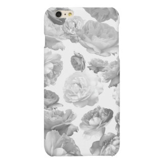 Modern Black + White Floral iPhone 6/6s PLUS Case