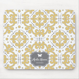 Modern Bliss medallion mouse pad