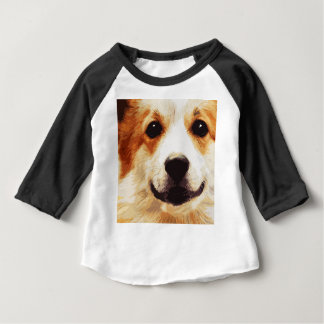 modern blown Welsh Corgi Baby T-Shirt