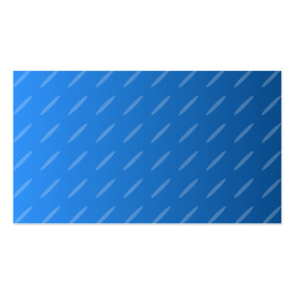 Modern Blue Abstract. Thin Ovals Pattern. Business Card