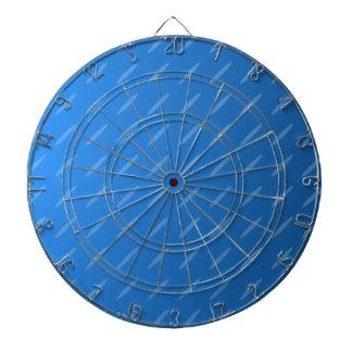 Modern Blue Abstract. Thin Ovals Pattern. Dart Board