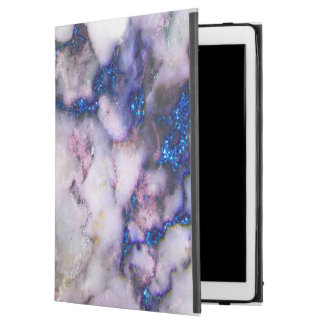 Modern Blue And Grey And Pink Marble Stone