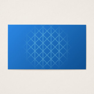 Modern Blue Design with part grid pattern. Business Card