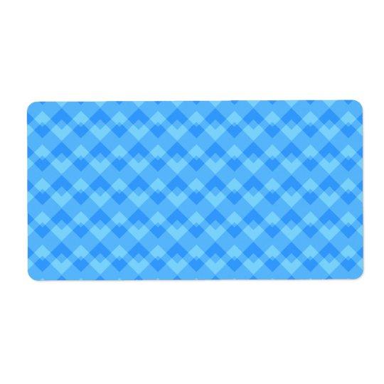 Modern Blue Pattern.