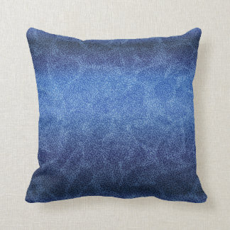 Modern Blue Pattern Stylish Throw Pillow