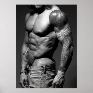 Modern Bodybuilder Poster