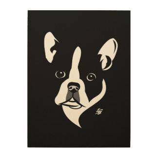 Modern Boston Terrier Art