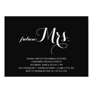 Modern Bridal Shower Invitation