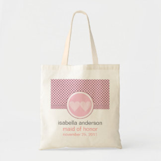 Modern Bride Wedding Party Tote Budget Tote Bag