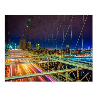 Modern bridge postcard