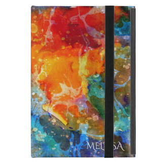 Modern Bright Colored Abstract Art Background iPad Mini Covers
