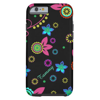 Modern Bright Floral iPhone 6 case