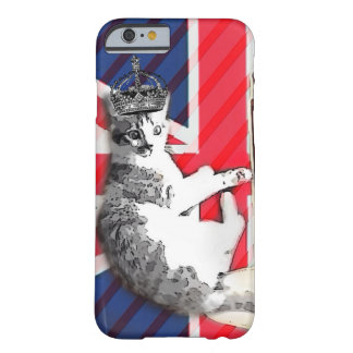 modern british flag  union jack funny cat barely there iPhone 6 case
