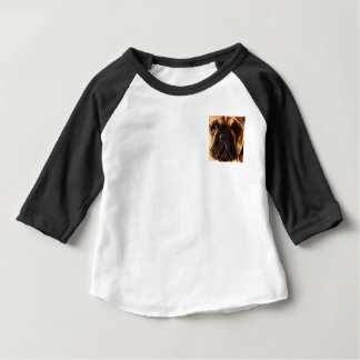 modern brown big French Bulldog Baby T-Shirt