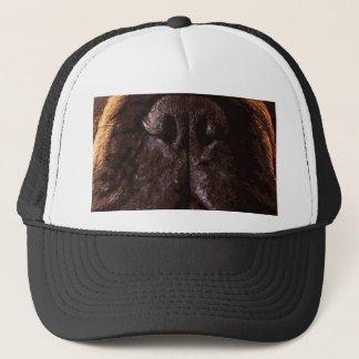 modern brown big French Bulldog Trucker Hat