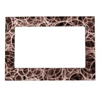 Modern Brown Pattern  5x7 Magnetic Frame
