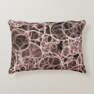 "Modern Brown Pattern  Pillow 16"" x 12"""