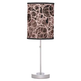 Modern Brown Pattern Table Lamp