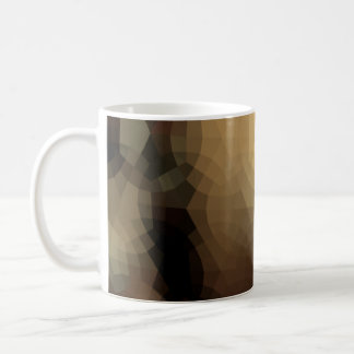 Modern Brown Poly Mug