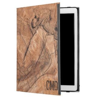 "Modern Brown Wooden Pattern iPad Pro 12.9"" Case"