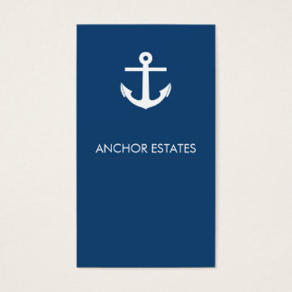 Modern Business Card | Nautical Anchor