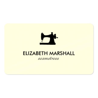 Modern Business Card No. 73 | Sewing Machine