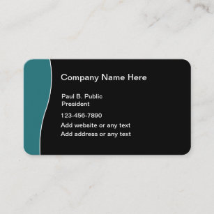 Rounded corners business cards profile cards zazzle ca modern business cards rounded corners colourmoves