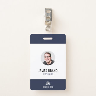 Modern Business ID Badge