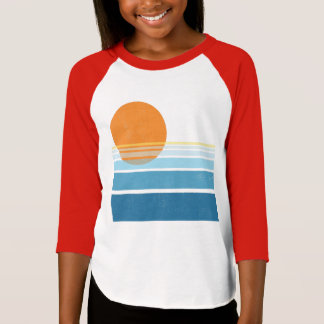 Modern California Sunrise T-Shirt