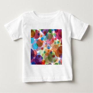 Modern Calm But Bold Pink Polka Dots Baby T-Shirt