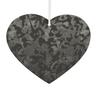 Modern Camo -Black and Dark Grey- camouflage Car Air Freshener