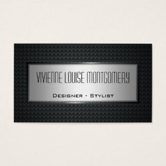 Modern Carbon Fiber Professional Business Card